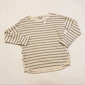 Anthropologie | NWT Postmark Striped Tee